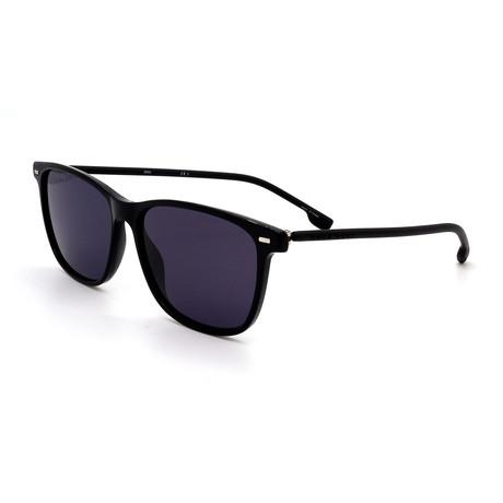 Hugo Boss // Men's 1009-S-807 Square Sunglasses // Black + Gray