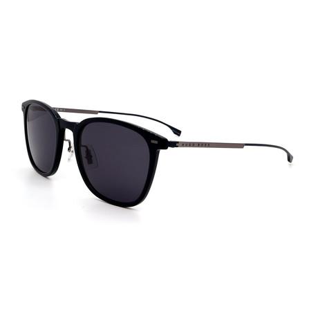 Hugo Boss // Men's 0974-S-0PJP Square Sunglasses // Black