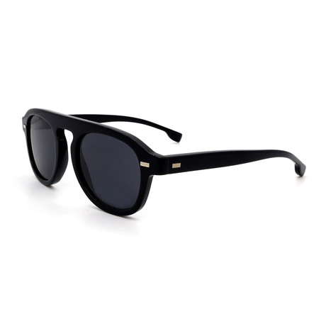 Hugo Boss // Men's 1000-S-0807 Sunglasses // Black + Gray