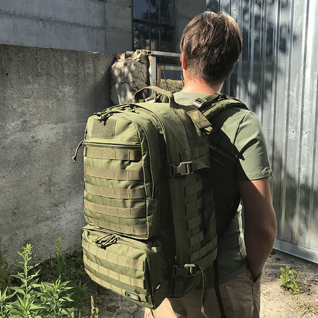 Sedona Backpack // Dark Olive