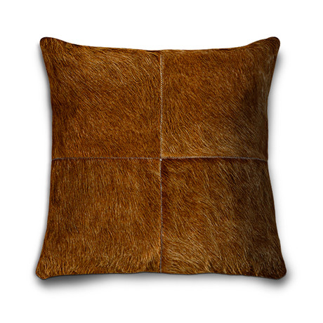 "Bolero Pillow Cover // Caramel (13""L x 21""W)"