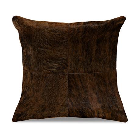 "Bolero Pillow Cover // Dark Jasper (13""L x 21""W)"