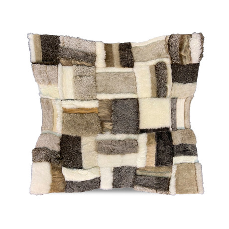 """Tango Pillow Cover // Taupe Neutral (13""""L x 21""""W)"""