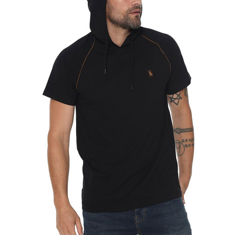 Luis Hoodie Shirt // Black (Small)