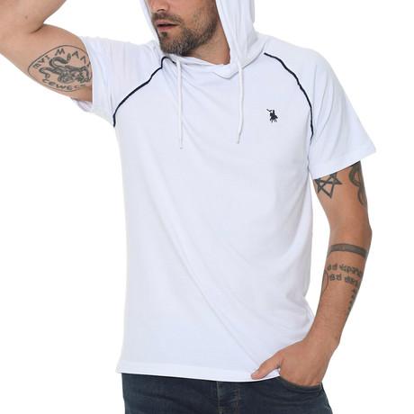 Luis Hoodie Shirt // White (Small)