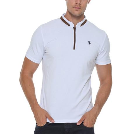 Erkek Shirt // White (Small)