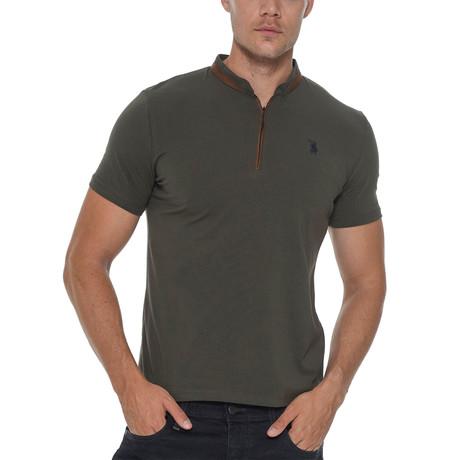 Erkek Shirt // Olive Green (Small)