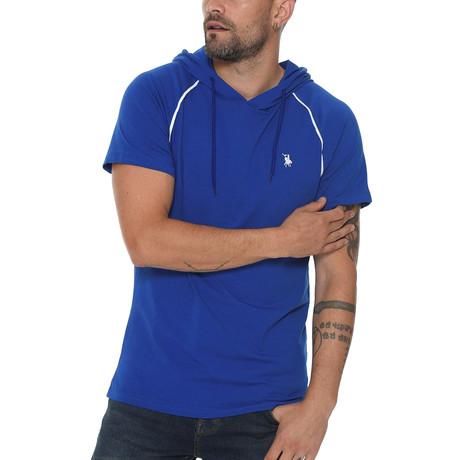 Luis Hoodie Shirt // Sax (Small)