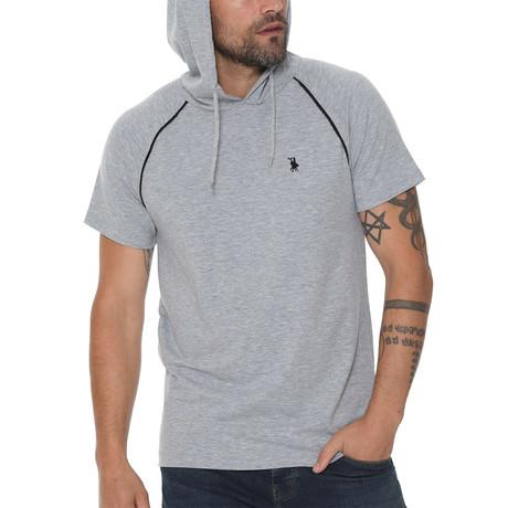 Luis Hoodie Shirt // Gray (Small)