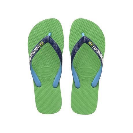 Brazil Mix Sandal // Leaf Green (US: 8)