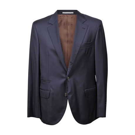 Brunello Cucinelli // Dominic Suit // Navy Blue (Euro: 46)