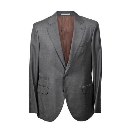 Brunello Cucinelli // Mike Suit // Gray (Euro: 46)