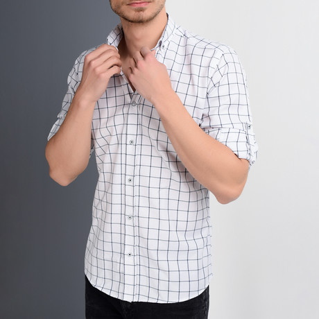 Rocco Button Up Shirt // White (Small)