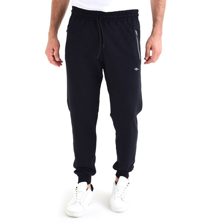 Lawton Track Bottom // Navy Blue (S)