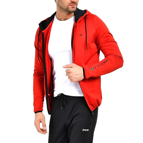 Cannon Track Top // Red (S)