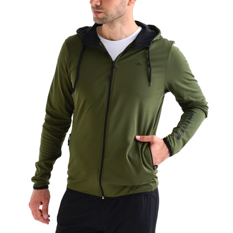 Millbrook Track Top // Green (S)