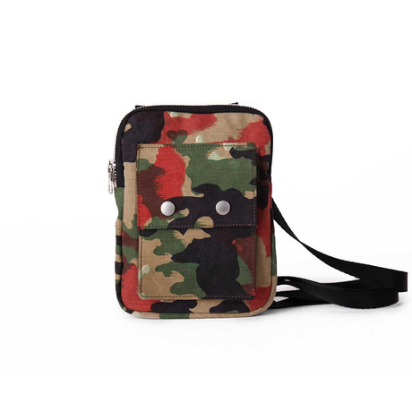 Temple Travel Bag // Camouflage