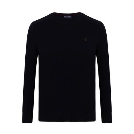 Adam Crewneck Sweater // Navy (S)