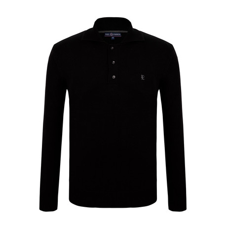 Wesley Polo Sweater // Black (S)