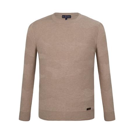 Aiden Crew Neck Sweater // Mink (S)