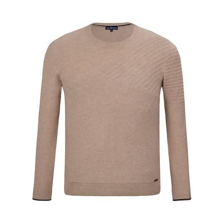Fletcher Crew Neck Sweater // Mink (S)