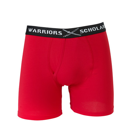 Sidecar Cotton Boxer Brief // Red (S)