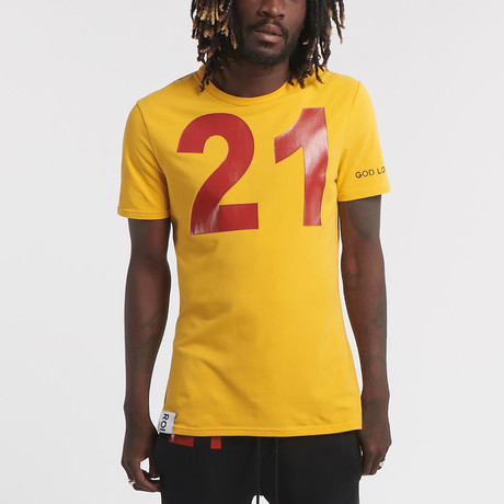 Wix Ss Tee // Yellow (S)