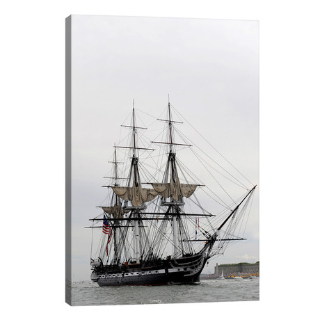 The World's Oldest Commissioned Warship, USS Constitution // Stocktrek Images