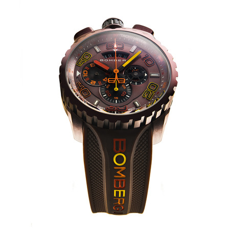 Bomberg Bolt.68 Chronograph Quartz // BS45CHPBR.049.4.3