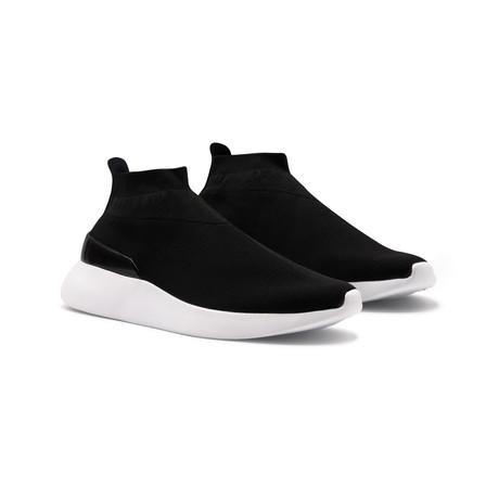 Duxs Sneaker // Black + White (US: 6.5)