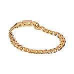 Cuban Link Bracelet // 8mm // Gold Plated