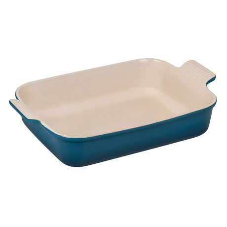 Heritage Rectangular Dish // Deep Teal