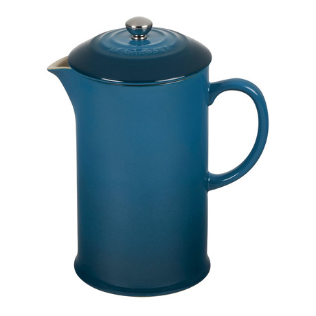 French Press // Deep Teal