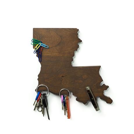 Louisiana Magnetic Key Holder