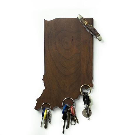 Indiana Magnetic Key Holder