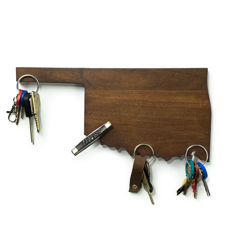 Oklahoma Magnetic Key Holder
