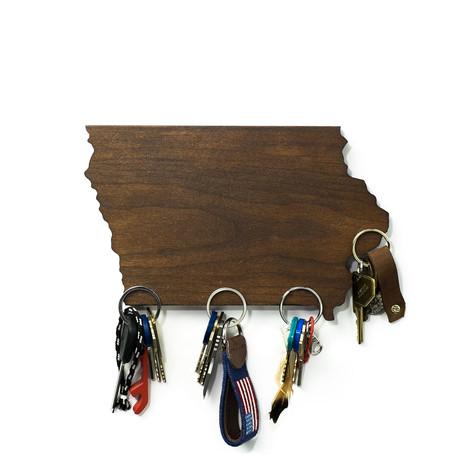 Iowa Magnetic Key Holder