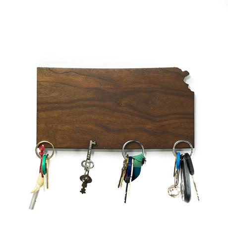 Kansas Magnetic Key Holder