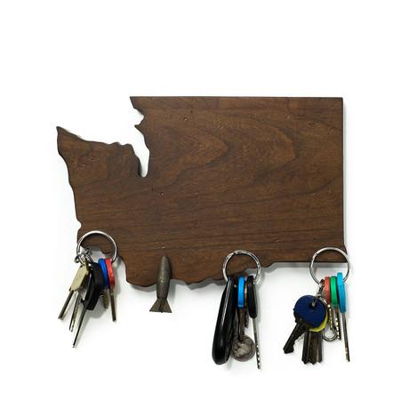 Washington Magnetic Key Holder