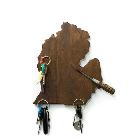 Michigan Magnetic Key Holder