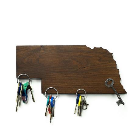 Nebraska Magnetic Key Holder