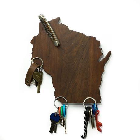 Wisconsin Magnetic Key Holder