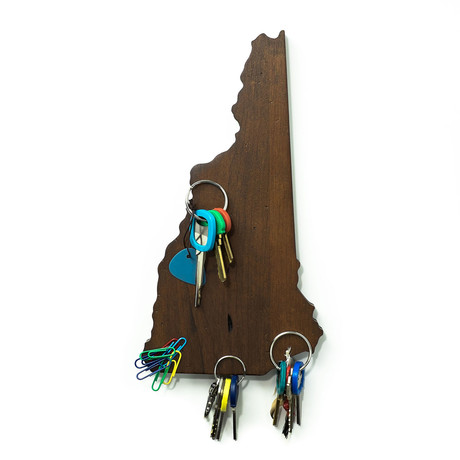 New Hampshire Magnetic Key Holder