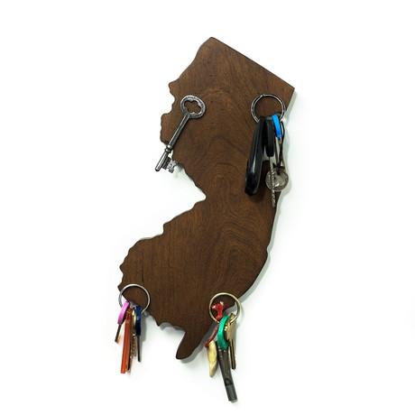 New Jersey Magnetic Key Holder