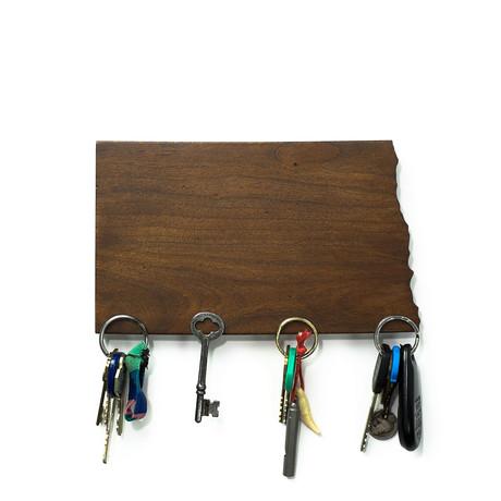 North Dakota Magnetic Key Holder