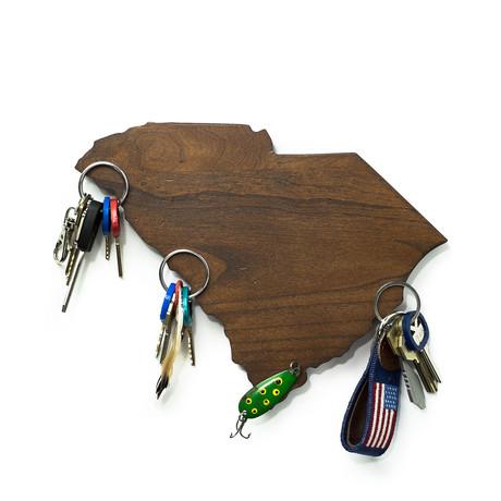 South Carolina Magnetic Key Holder
