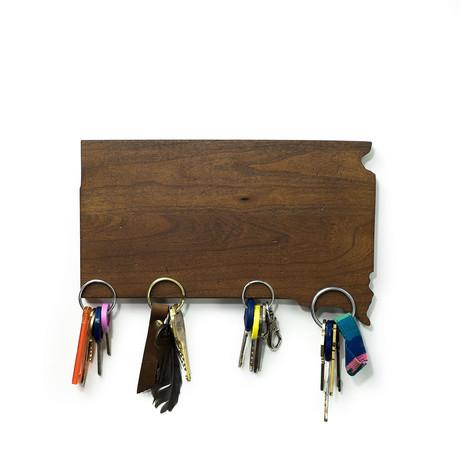 South Dakota Magnetic Key Holder
