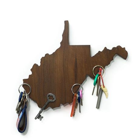 West Virginia Magnetic Key Holder