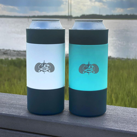 Non-Tipping Can Cooler // 16 Oz (Teal)
