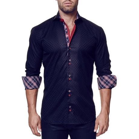 Mini Panam Square Dress Shirt // Black (S)